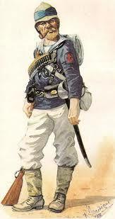 British naval brigade uniform, late 19th century