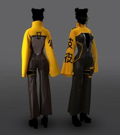 Mode Cyberpunk, Cyberpunk Fashion, Cyberpunk Clothes, Anime Outfits, Cool Outfits, Fashion Outfits, Super Hero Outfits, Look Boho Chic, Drawing Clothes