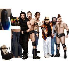 Ringside for Roman Reigns, Randy Orton, and Dean Ambrose VS. Bray Wyatt, Luke Harper, and Sheamus.
