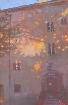 Bernie Fuchs (1932 - 2009) | Building and Shadows | Telluride Gallery