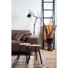 Zuiver Reader Vloerlamp - Mat Zwart