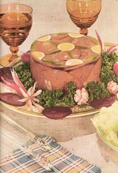 395 Best Awesomely Bad Vintage Dishes images | Retro recipes ...
