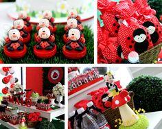 Festa Joaninha - Ladybug Party