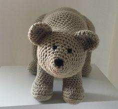 Free Bear Amigurumi Crochet Pattern