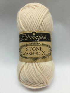 Sheepjes Stone Washed XL, Pink Quartzite, 861, light pink, peach, Cotton yarn by GoodFiberYarns on Etsy https://www.etsy.com/listing/262259567/sheepjes-stone-washed-xl-pink-quartzite