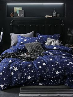 Star Owl Plaids Bed Cover Set Cartoon Duvet Cover Adult Kids Boys Bed Sheets And Pillowcases Comforter Bedding Set 61001 Cheap Bedding Sets, Cotton Bedding Sets, Cotton Duvet, Cotton Fabric, Bed Cover Sets, Bed Covers, Pillow Covers, Pillow Inserts, Kids Beds For Boys