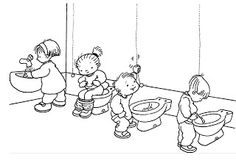 toilette/ laver les mains