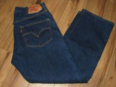 Levis 501 Mens Levi Blue Jeans 36 X 31 Button Fly Original Fit #Levis #OriginalFit