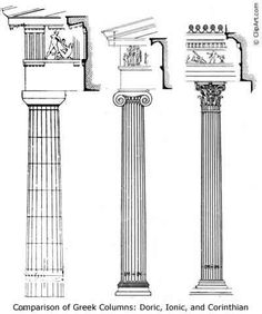 Column of greek