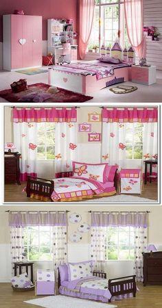 Children Bedroom Curtains Designs - http://interiordesign4.com/children-bedroom-curtains-designs/