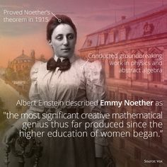 Emmy Noether, Math And Physics Pioneer