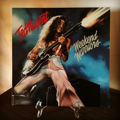 Now spinning!!! #tednugent #weekendwarriors #1978 #classicrock #electricguitar www.johnpauldehaas.com