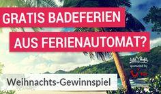 Gewinne mit dem Weihnachts-Gewinnspiel vom Lehner-Versand gratis #Badeferien, Gutscheine, Reisegutscheine und vieles mehr im Gesamtwert von CHF 100'000.-. https://www.alle-schweizer-wettbewerbe.ch/gratis-badeferien-gewinnen/
