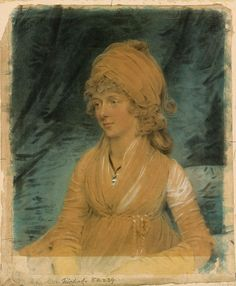 John Downman | Portrait of a Lady, possibly Miss Weatherby | 1796.