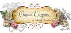 Casual Elegance by Beverly Girolomo my blog.  Come & check me out!  Love all things shabby chic, french, vintage. My goal is to create one of a kind handmade pieces that the bride or any lady of Glamour will love and enjoy wearing...for her Wedding and any occasion!  I have a special place just for Weddings!