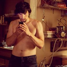"""""""Is this f***ing FaceSpace or whatever?"""" Adam Sackler (Adam Driver) on #GIRLS"""