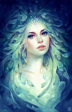 #water #hair