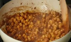 Spicy Indian Chickpea and Ginger Side Dish