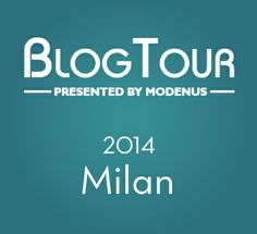 I am going on Blogtour Milan!!!!