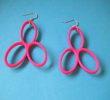 orecchini Glossy rosa