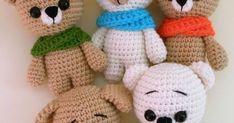 Foto: Amigurumi Today      Vamos que nos vamos con el último de los patrones de Amigurumi Today que tenía pensado hacer, como muchas dij... Amigurumi Toys, Pattern, Animals, Blog, Free, Crochet Hippo, Crochet Letters, Crochet Keychain, Crochet Animals