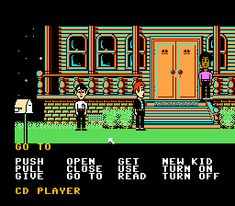 Maniac Mansion   old school adventure gaming. one of my favorites!