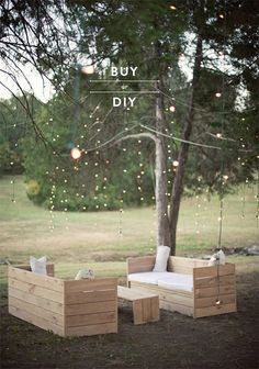 Buy or DIY: Patio Furniture