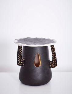Le Kamoso (Even Tomorrow) Ceramic 33 x 33 x 33 cm One-Off