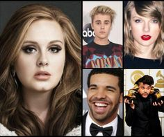 Estos son los artistas nominados a los Billboard Music Awards 2016   ARTISTA DEL AÑO  Adele  Justin Bieber  Drake  Taylor Swift  The Weekend  ARTISTA REVELACIÓN  Fetty Wap  OMI  Charlie Puth  Silentó  Bryson Tiller  MEJOR ARTISTA MASCULINO  Justin Bieber  Drake  Fetty Wap  Ed Sheeran  The Weeknd  MEJOR ARTISTA FEMENINA  Adele  Selena Gomez  Ariana Grande  Rihanna  Taylor Swift  MEJOR DÚO/ BANDA  Maroon 5  One Direction  Twenty one pilots  The Rolling Stones  U2  MEJOR BANDA SONORA  One…