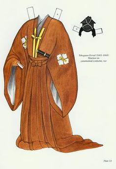 brown robe