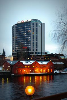 #tampere #tammerfors #city #sokos #hotel #ilves #winter
