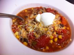 Adventures in crafting, cooking, and couponing!: Easy Taco Soup