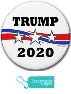 "6-PACK! DONALD TRUMP FOR PRESIDENT! 2016 CAMPAIGN POLITICAL BUTTON PIN Badge 2.25"" GOP REPUBLICAN! - SIX BUTTONS BULK LOT! from Meteor Storm Buttons https://www.amazon.com/dp/B01IC3CK0E/ref=hnd_sw_r_pi_dp_-UVZybC7NTWA9 #handmadeatamazon"