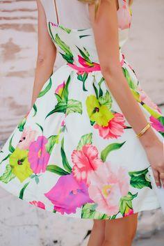 Flirty Floral Print