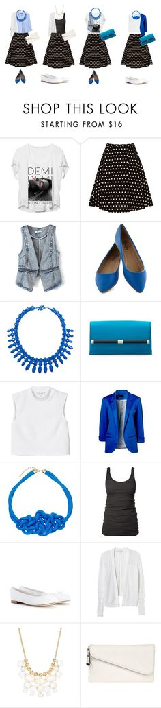 """""""..."""" by veni-vidi-vici ❤ liked on Polyvore featuring VIVETTA, SELECTED, Diane Von Furstenberg, Monki, James Perse, Repetto, Rebecca Taylor, Kensie, Jane Norman and H&M"""