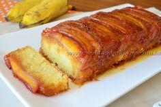 Bolo de banana caramelada | Receitas e Temperos