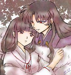 別館・のうてんきな流れ星 Naraku and  kikyo