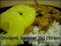 Crockpot Hawaiian BBQ Chicken on MyRecipeMagic.com