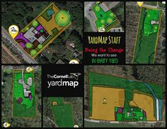 At YardMap, we practice creating habitat for wildlife. Our small team is comprised of educators, conservationists, programmers, and designers. YES, we map too! These are staff YardMaps. Each of us, like our users, are in the process of adding quality habitat features and our maps are evolving to reflect those changes. http://app.yardmap.org/map/L3123174 http://app.yardmap.org/map/L2418723 http://app.yardmap.org/map/L3349137