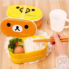 Kawaii Rilakkuma Bento Box