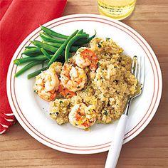 Shrimp and Quinoa Pilaf | MyRecipes.com