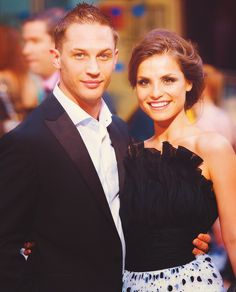 Tom and his lovely lady, Charlotte Riley