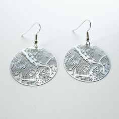 Rep your city with Urban Gridded Earrings and Necklace. This is my city...Minneapolis but check out Aminimal to see if they have your city.