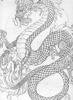 big #dragon and little appren.. by *biomechlizardchick on deviantart