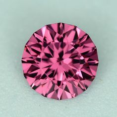 MJ3311 - 1.26ct Rhodolite - Tanzania calibrated 6.50 x 4.20 mm clean, custom cut, $65 including shipping