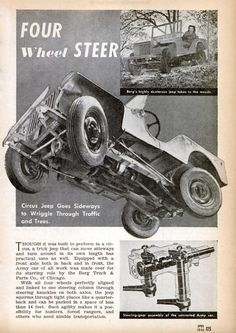 Your source for Jeep and Willys deals, mods and Cj Jeep, Jeep Truck, Military Jeep, Military Vehicles, Jeep Willis, Old American Cars, Vintage Jeep, Car Advertising, Advertising History
