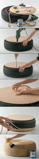 Tyre seat