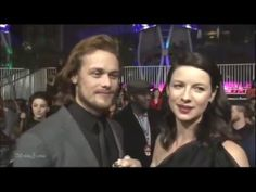 Sam Heughan and Caitriona Balfe - This is all we're living for - YouTube