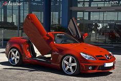 Mercedes SLK 55 AMG Powered by Kleemann