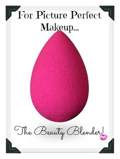 THE BEAUTY BLENDER, is the only foundation applicator you'll ever need for that picture perfect application every time. If you haven't tried this sponge, you need too! It's a Barbie's Beauty Bits Love! #beautyblender,#makeuptips, #airbrushed, #foundation